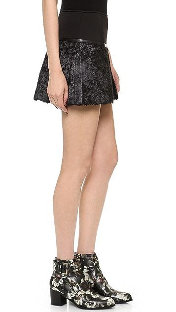 Ohne Titel Waxed Texture Skirt