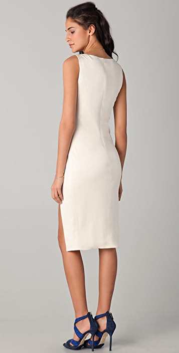 Olcay Gulsen Two Slit Dress