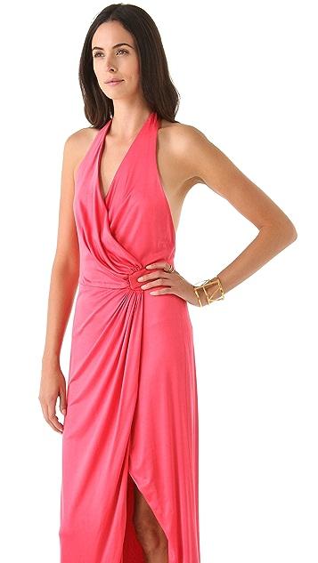 Olcay Gulsen Silk Jersey Maxi Dress