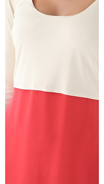 Olcay Gulsen Long Sleeve Dress