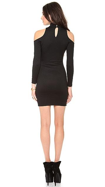Olcay Gulsen Open Shoulder Dress