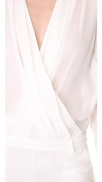 Olcay Gulsen Long Sleeve Jumpsuit