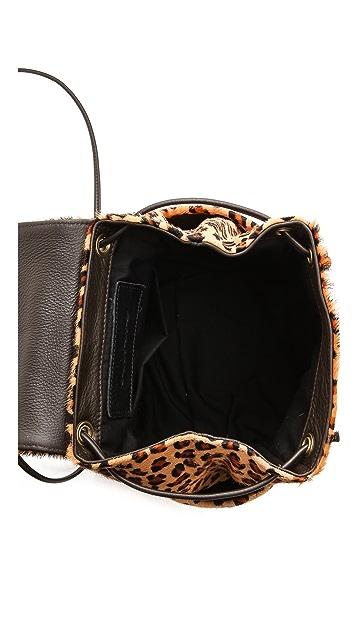 Oliveve Haircalf Dottie Convertible Bag