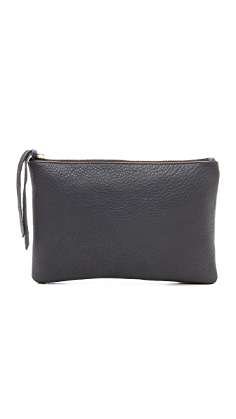 Oliveve Pebbled Queenie Clutch