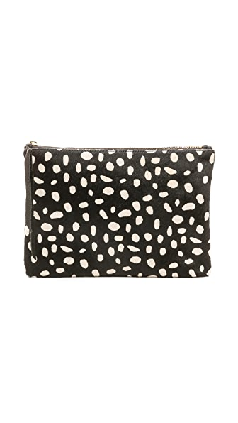 Oliveve Haircalf Queenie Clutch