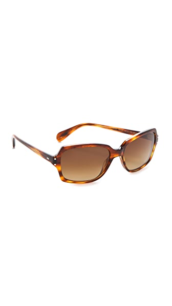 Oliver Peoples Eyewear Nanny B Polarized Sunglasses