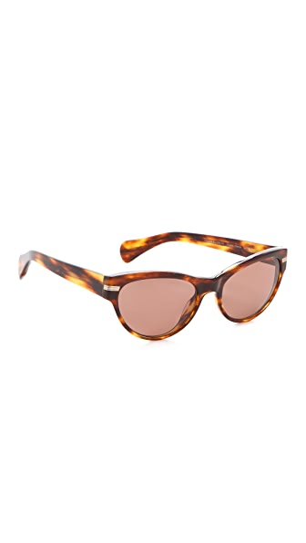 Oliver Peoples Eyewear Kosslyn Polarized Cat Eye Sunglasses
