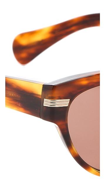 Oliver Peoples Eyewear Kosslyn Polarized Cat Eye Sunglasses