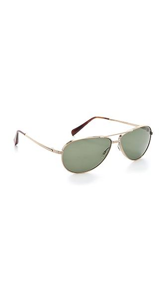 Oliver Peoples Eyewear Copter Polarized Sunglasses