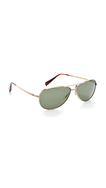 Oliver Peoples Eyewear Copter Polarized Sunglasses