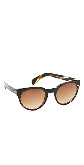 Oliver Peoples Eyewear Polarized Alivia Sunglasses