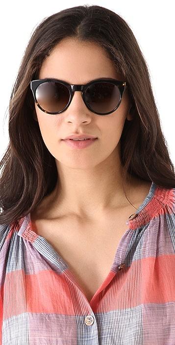 Oliver Peoples Eyewear Polarized Alivia Sunglasses
