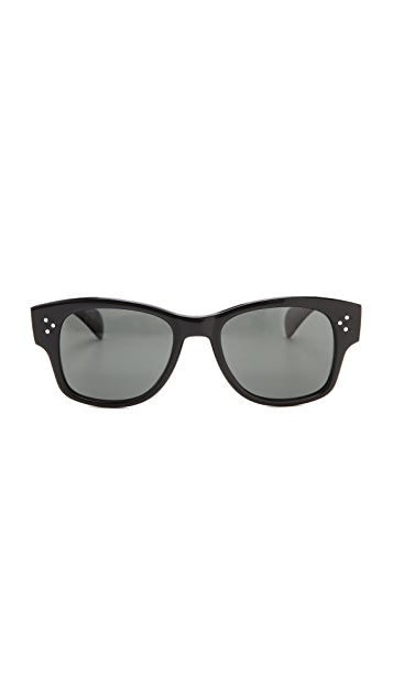 Oliver Peoples Eyewear Jannsson Polarized Sunglasses