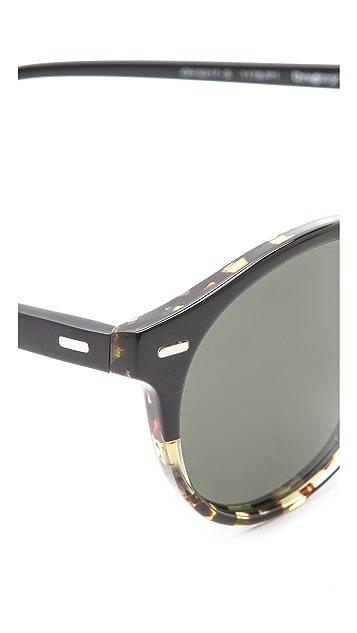 Oliver Peoples Eyewear Gregory Peck Polarized Sunglasses