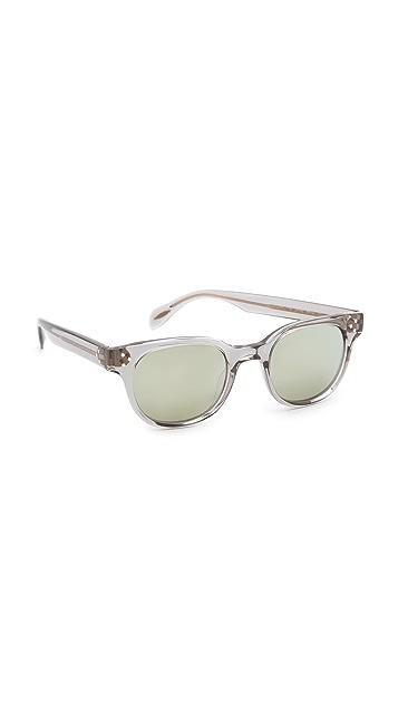 Oliver Peoples Eyewear Afton Mirrored Sunglasses