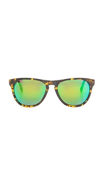 Oliver Peoples Eyewear Daddy B Mirrored Sunglasses