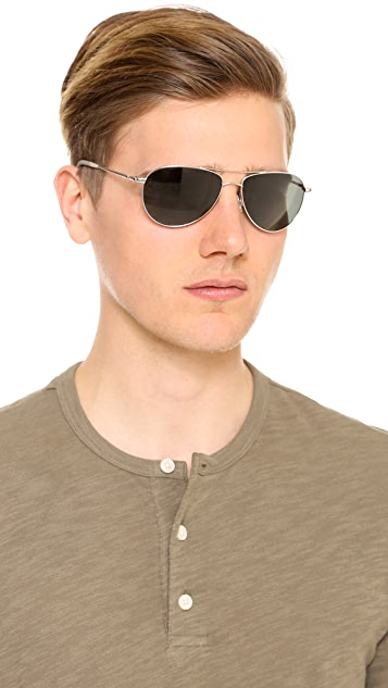 Oliver Peoples Eyewear Benedict Polarized Sunglasses