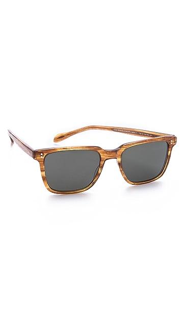 Oliver Peoples Eyewear NDG Polarized Sunglasses
