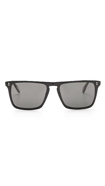 Oliver Peoples Eyewear Bernardo Polarized Sunglasses
