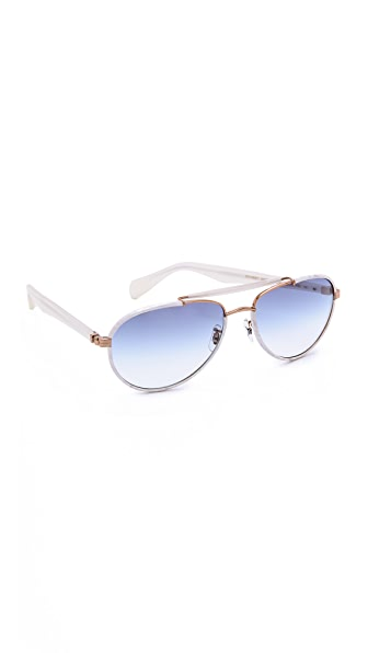 Oliver Peoples Eyewear Charter Gradient Sunglasses