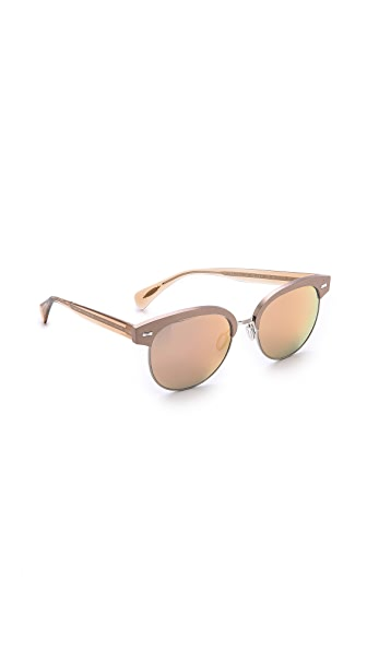 Oliver Peoples Eyewear Shaelie Mirrored Sunglasses