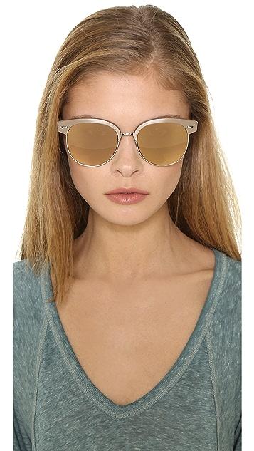 Oliver Peoples Eyewear Shaelie Mirrored Sunglasses