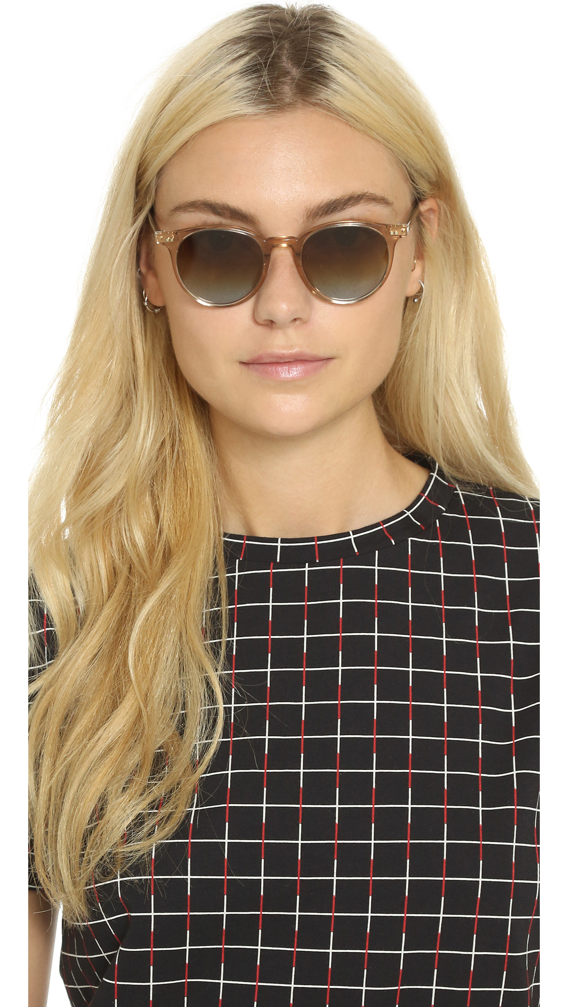 c4e462a47ae Oliver Peoples Eyewear Delray Sunglasses