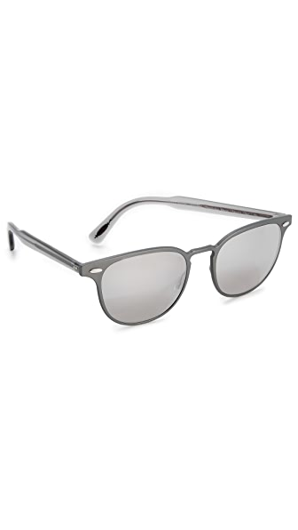 Oliver Peoples Eyewear Sheldrake Metal Sunglasses