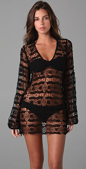 OndadeMar Bohemian Lace Cover Up