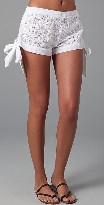 OndadeMar Bohemian Cover Up Shorts
