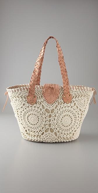 OndadeMar Decorative Two Tone Bag