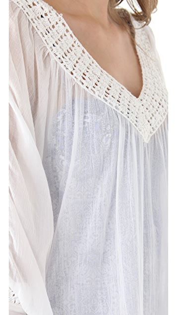 OndadeMar Crochet Cover Up Dress