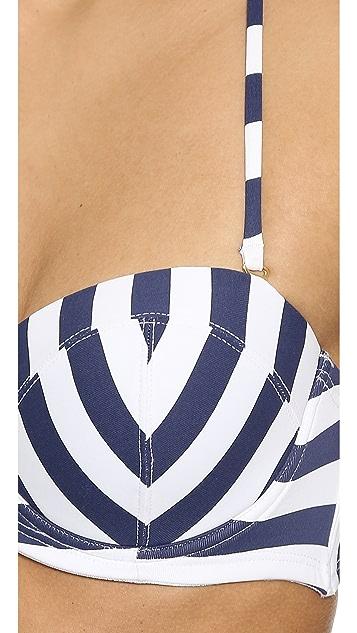 OndadeMar Nautical Spring Bandau Bikini Top