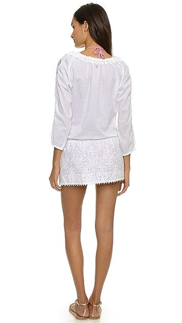 OndadeMar White Boheme Beach Dress