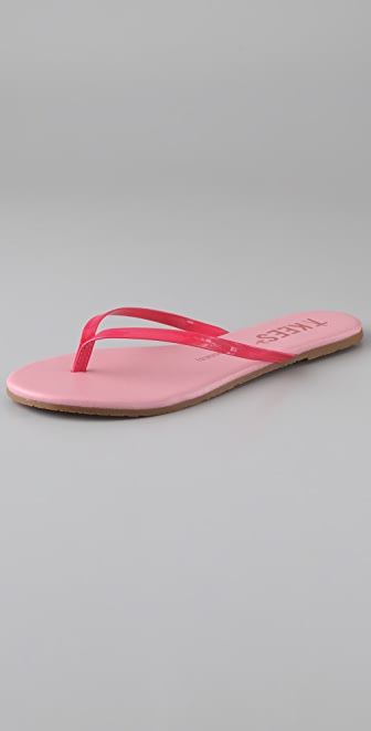 ONE by TKEES Lip Glosses Flat Thong Sandals