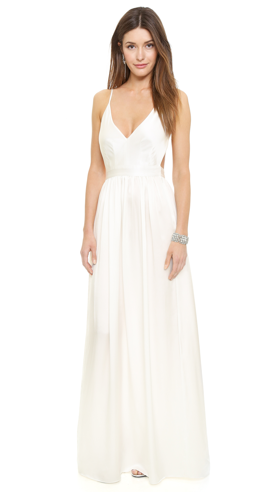 ONE by Contrarian Babs Bibb Maxi Dress | SHOPBOP