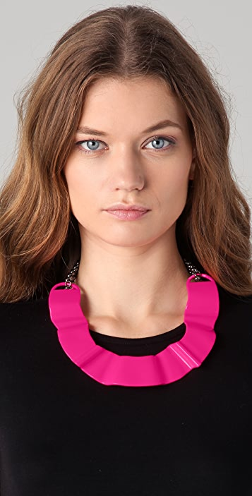 ONE by T. Cyia Neon Choker Necklace