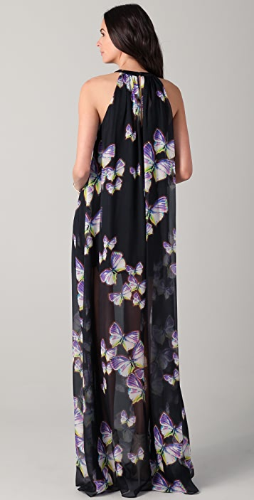 ONE by Erin Fetherston Halter Maxi Dress