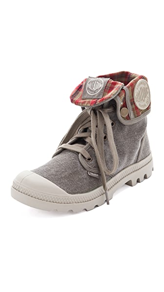 ONE by Palladium Baggy Canvas Booties