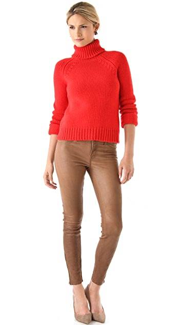 ONE by Duffy Cashmere Turtleneck Sweater