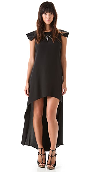 ONE by Viva Aviva Rayka Silk Mullet Dress