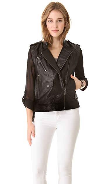 ONE by Ashley B Leather Jacket / Vest