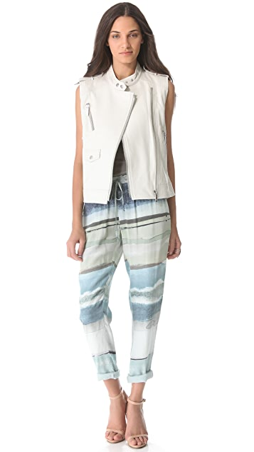 ONE by Ashley B Leather Jacket / Vest