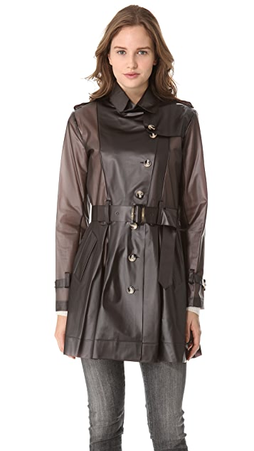 ONE by Terra Tribeca Trench Coat