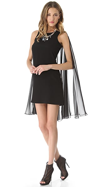 ONE by Viva Aviva Larkspur Cape Dress