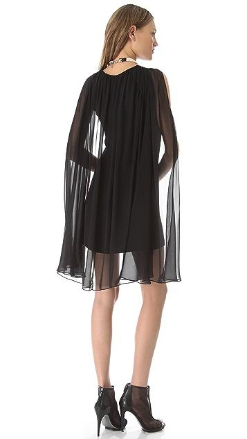 ONE by Viva Aviva Larkspur Cape Dress