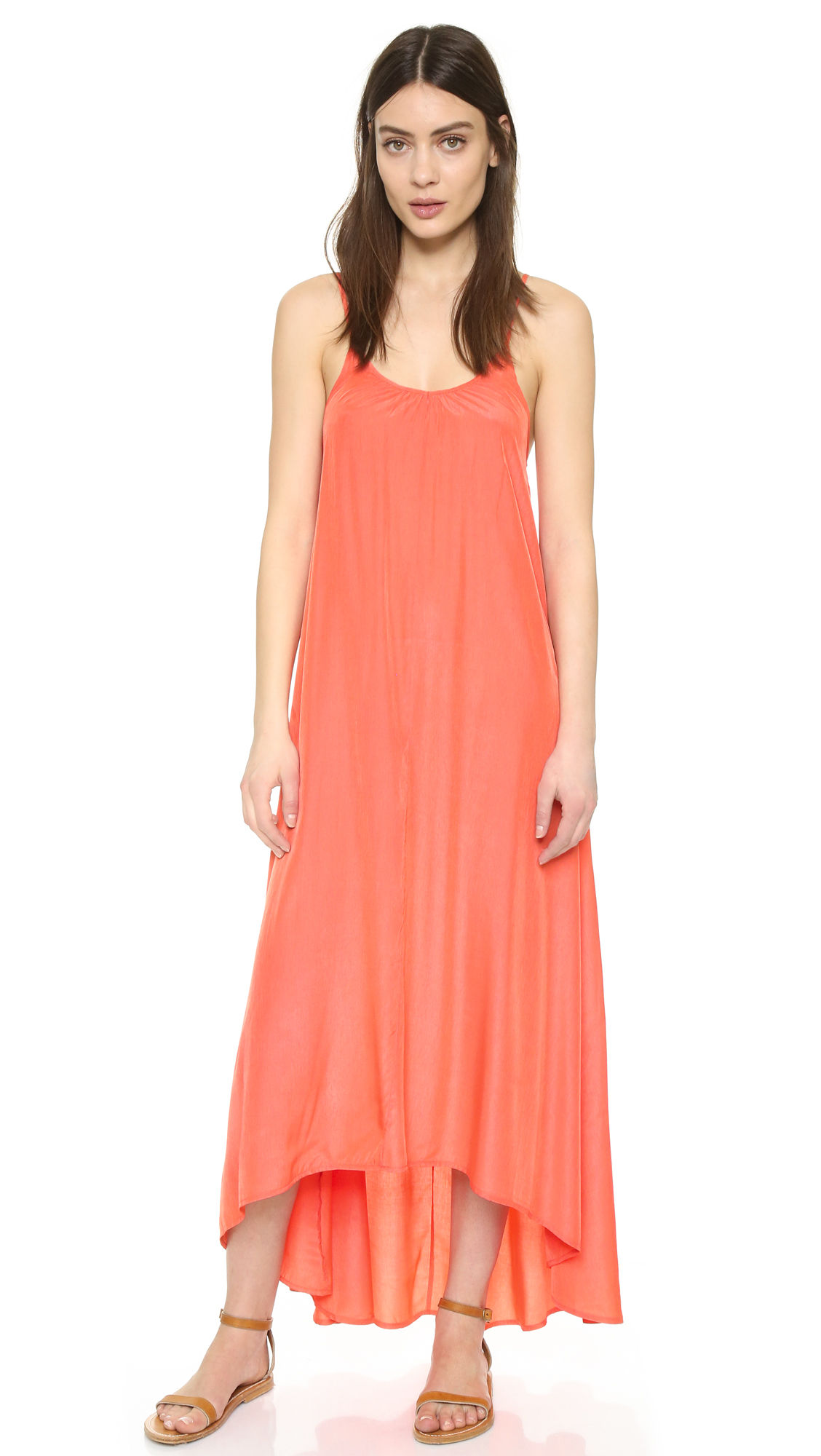 ONE by Resort Maxi Dress - Coral