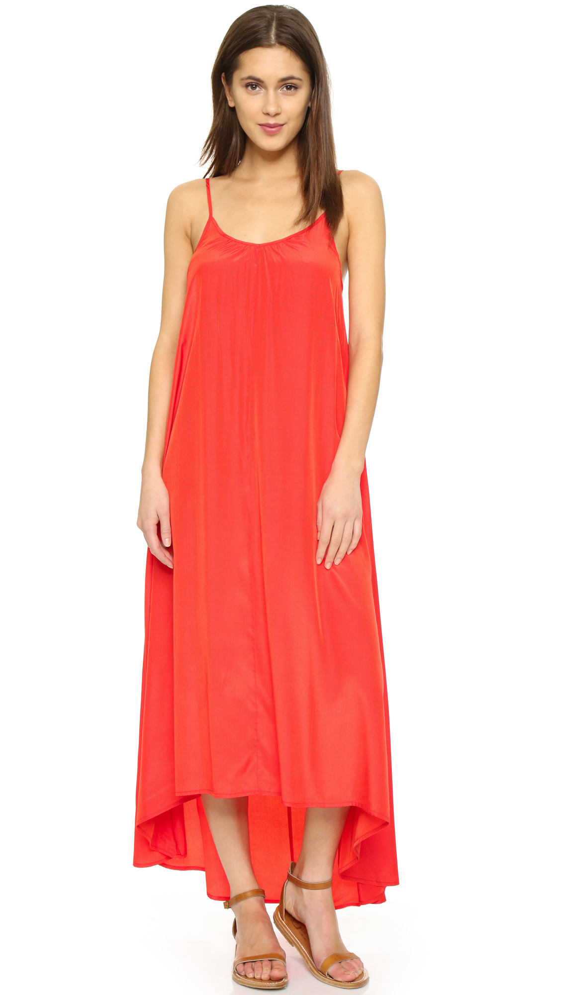 ONE by Resort Maxi Dress - Red