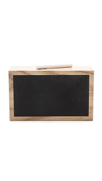 ONE by ashlyn'd Honor Roll Chalkboard Clutch