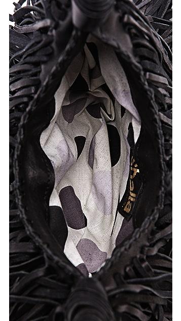 ONE by En Shalla Fringe Cross Body Bag